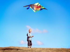 Sky's the limit! (my son, Wil, age 5)