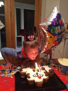 Wil 8th bday