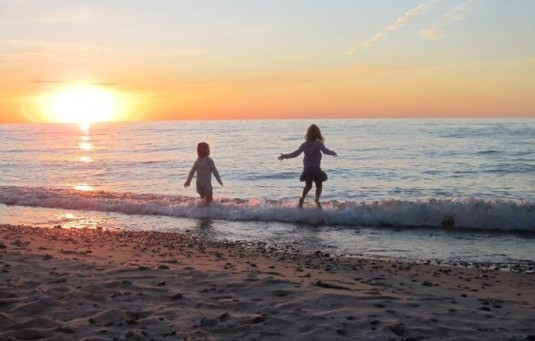 sunset beach (2)